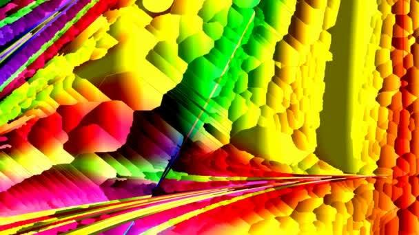 Animované spořiče obrazovky, barevné kamenné mozaiky