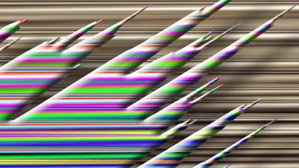 Grafico Surround Motivo Sfumato Colorato Su Sfondo Bianco E Nero Come Il Video Di Intro