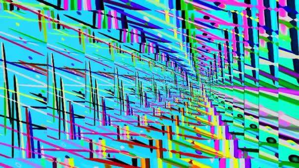 Geometrikus, absztrakt művészet dekoráció, a kilátás a hátráló levegőbe messzeség.