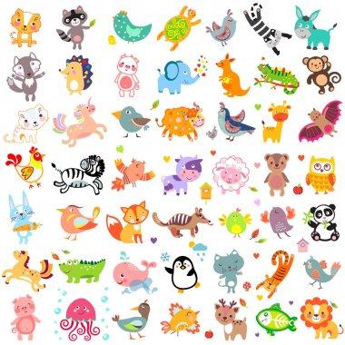 Animals Cute Set