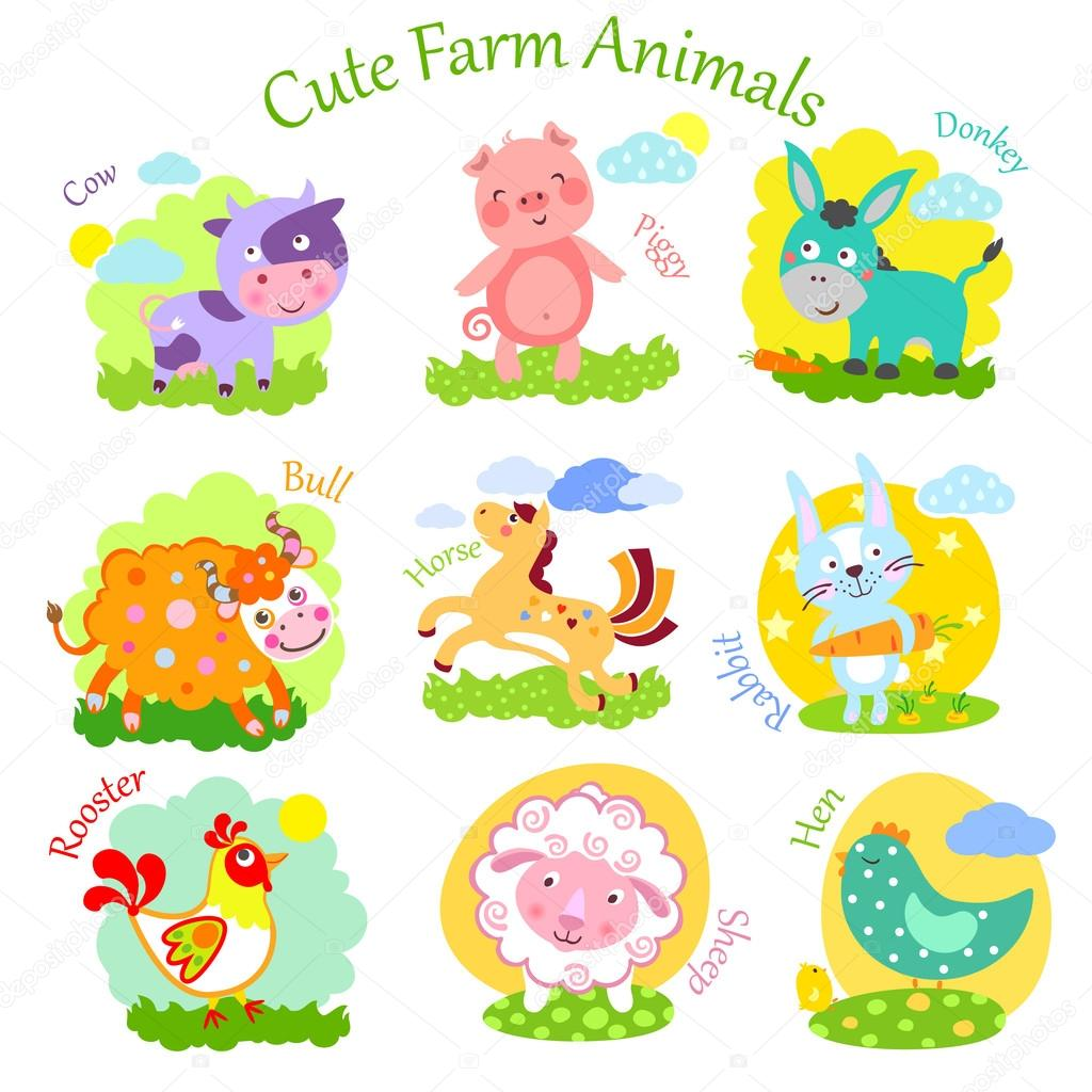 Farm Cutet Animals