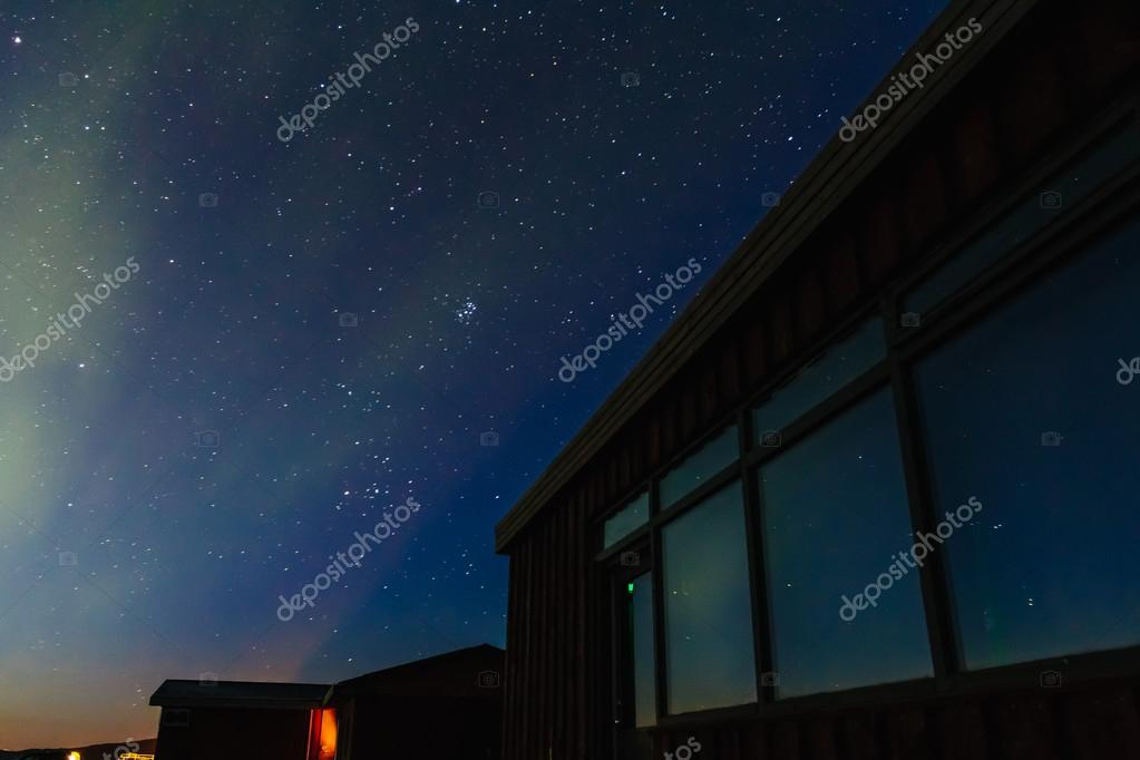 Aurora Borealis over southern Iceland