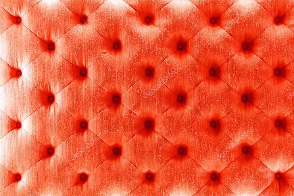 Red color sofa cloth texture