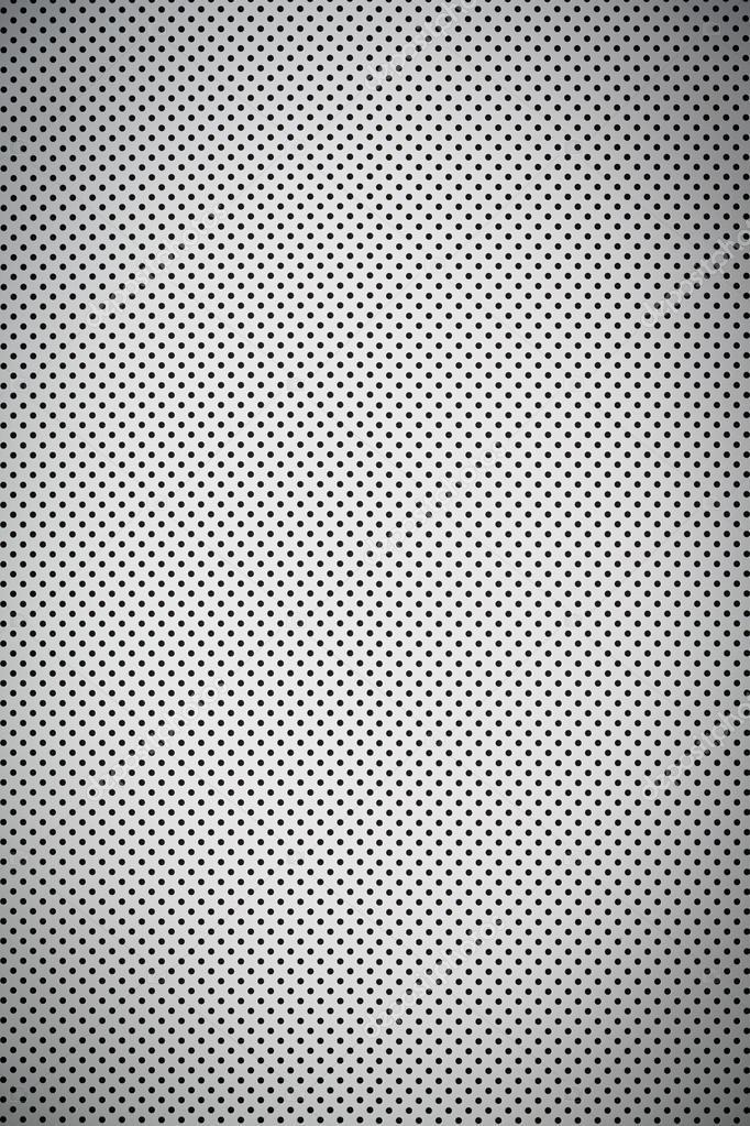 Hoja de metal perforada color blanco degradado — Foto de stock ...