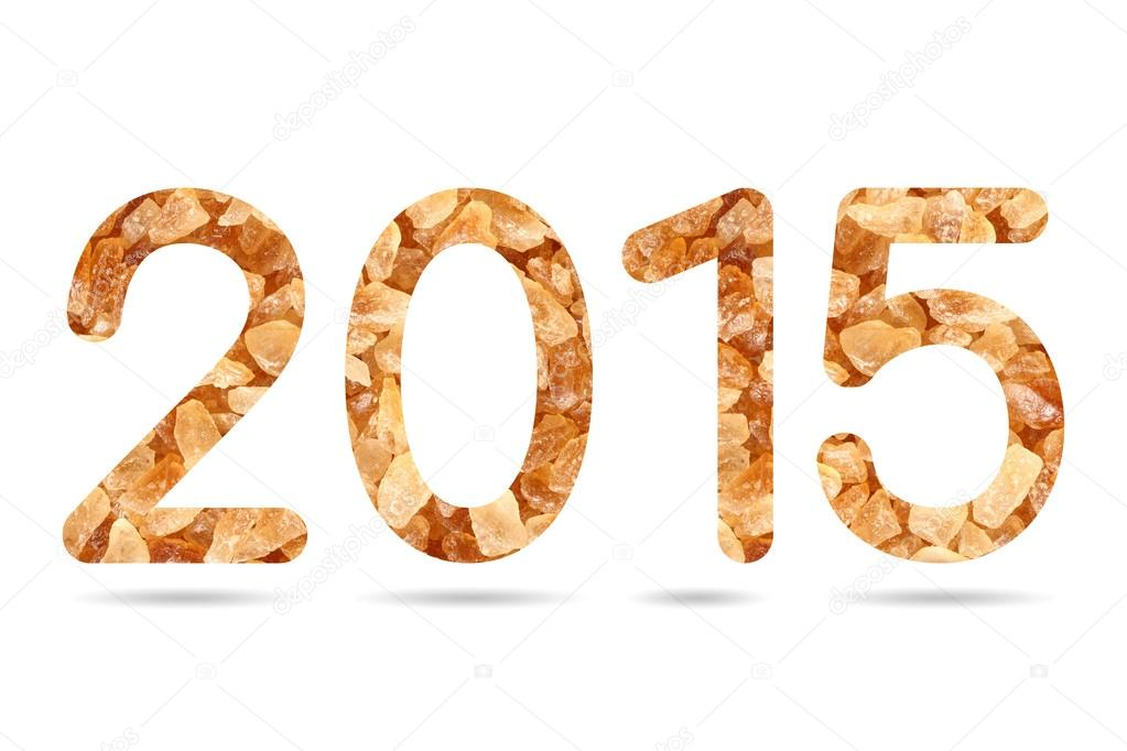 2015 Numeric From Natural Rock Sugar Stock Photo Smuayc 59722311
