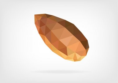 Low Poly Almond