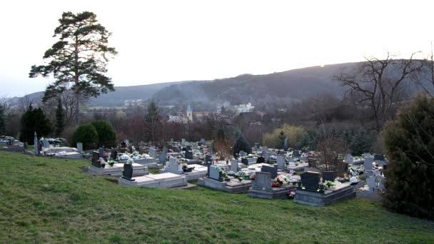 Hřbitov v Bohunovo, okres Rožňava