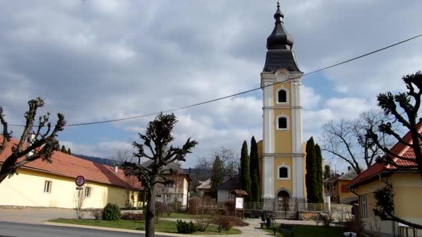 Barokní evangelický kostel, který byl postaven v Betliar roku 1786