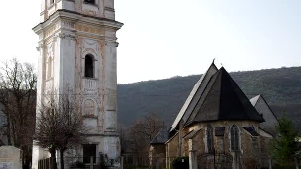 Zvonice a Kostel reformované církve v Plesivec, Slovensko