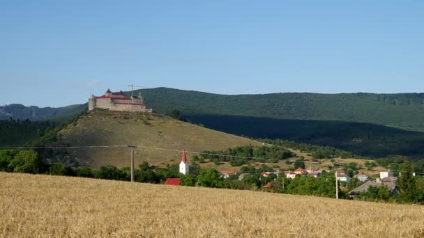 Krasna horka hrad, Slovensko