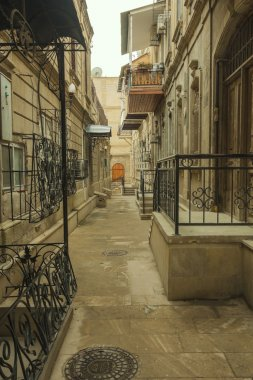 Street of the old city of Baku