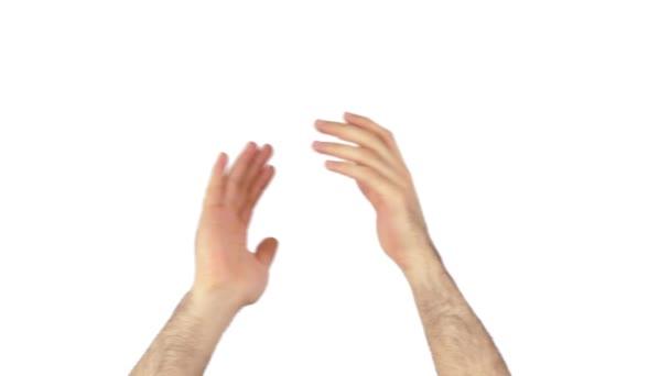 Taps kezek 4k fehér