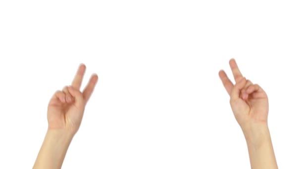 kezét a béke fehér 4k