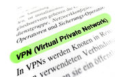 Fotografie Virtual Private Network (VPN)