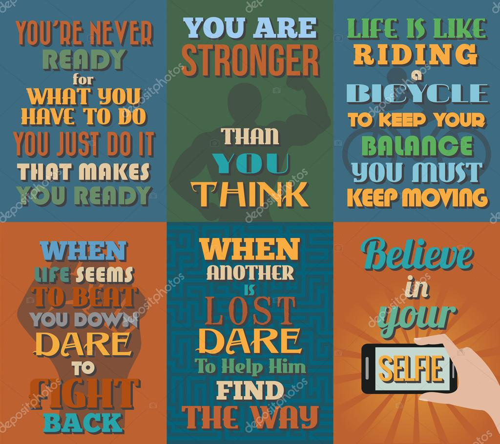 Life Quote Posters Unusual Motivational And Inspirational Quotes Postersset 12