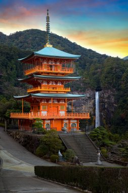 Pagoda of Seiganto-ji Temple in Wakayama, Japan