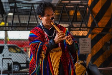 group of Peruvian Street Musicians