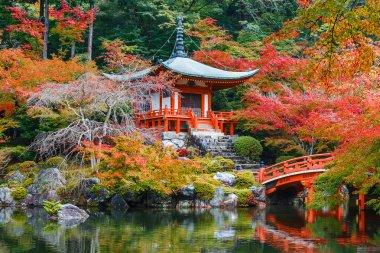 Early Autumn at Daigoji Temple in Kyoto, Japan