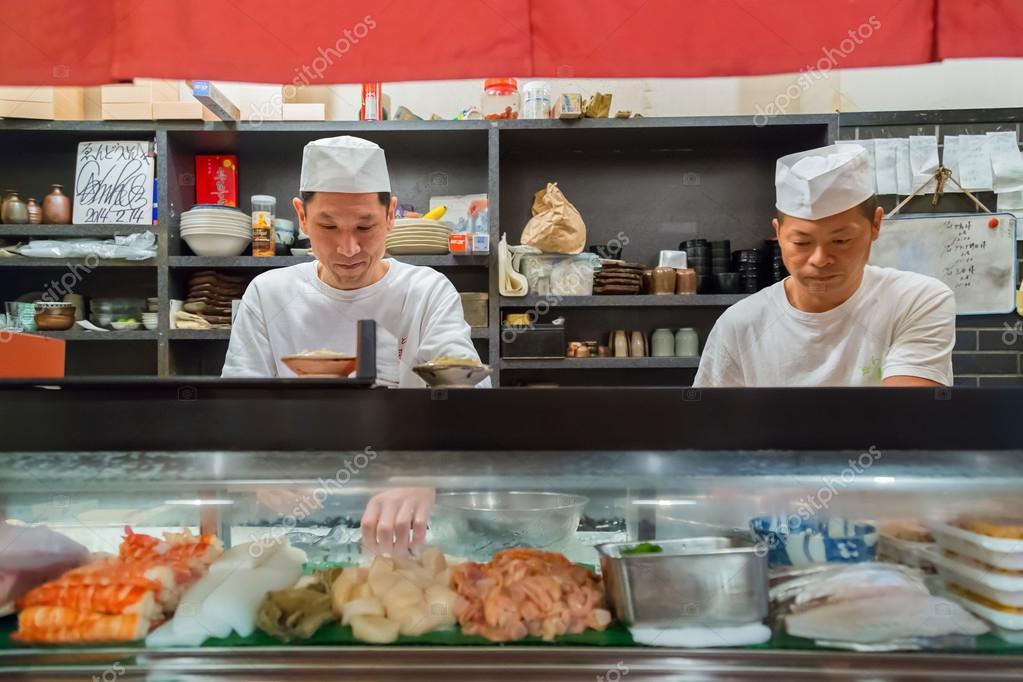 Japanese Sushi Chef – Stock Editorial Photo © cowardlion