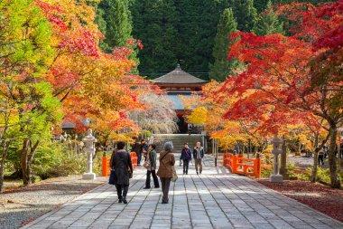 Eireiden Temple with Graveyard Area at Koyasan (Mt. Koya) in Wakayama