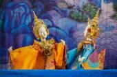 Tradiční thajské loutkové divadlo