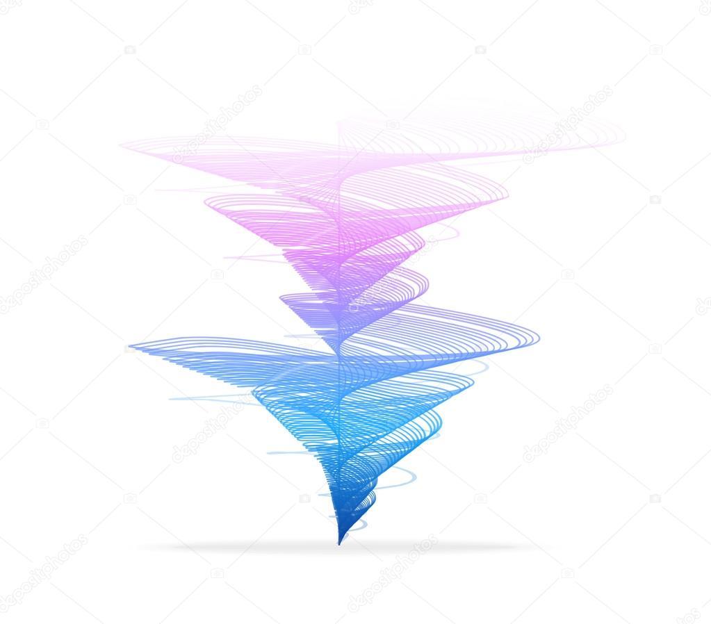 Vector tornado, vortex