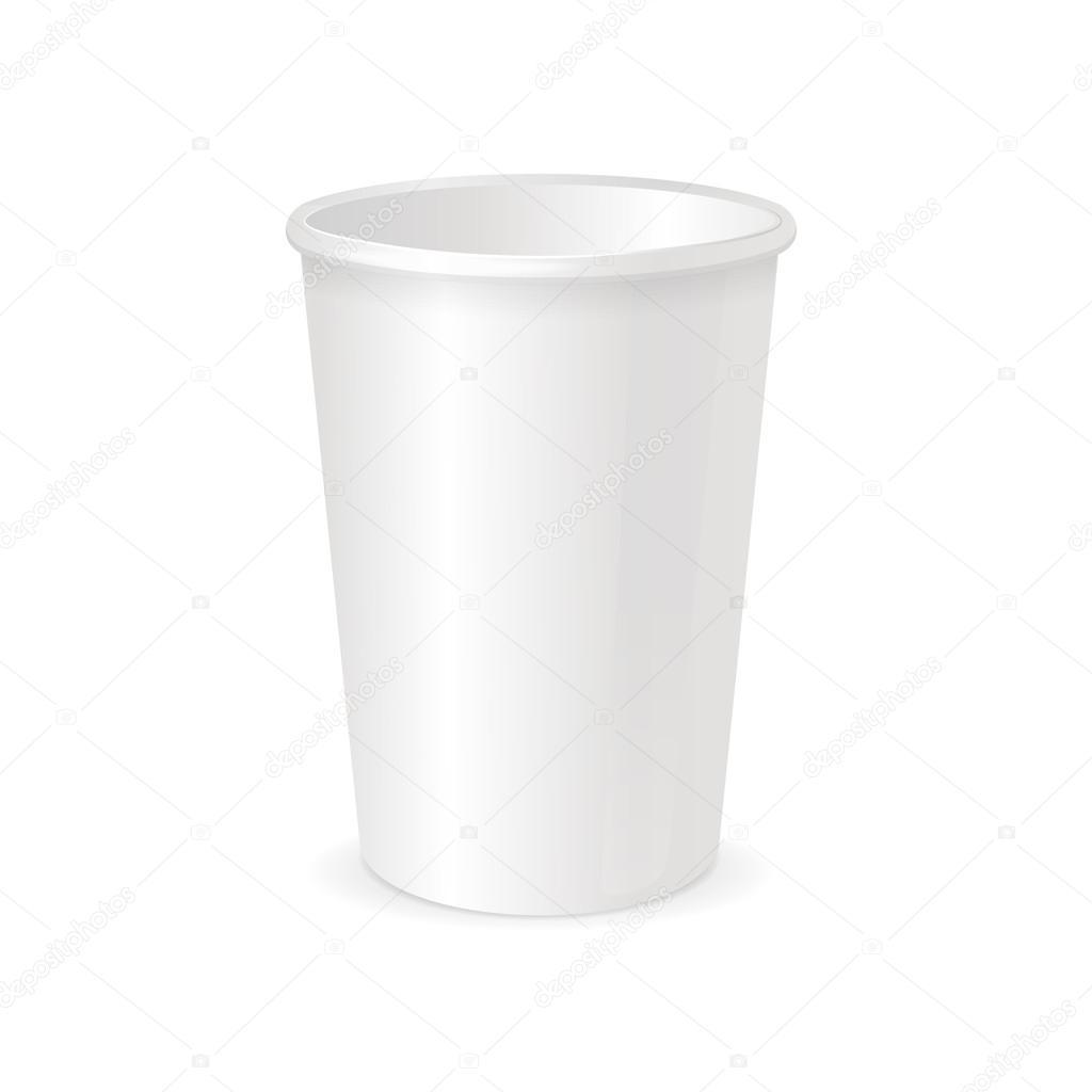 紙カップのテンプレート。ベクトル — ストックベクター © mouse_md #96906258