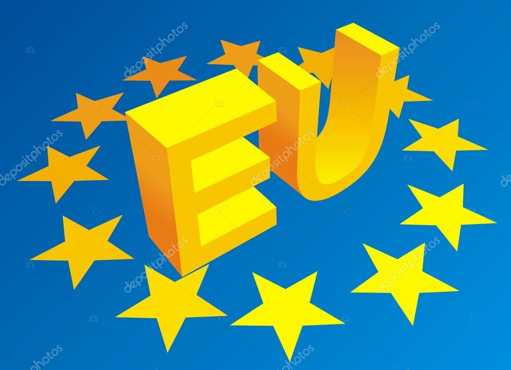 Symbole der Europäischen Union — Stockvektor © pepeemilio2 #100518130