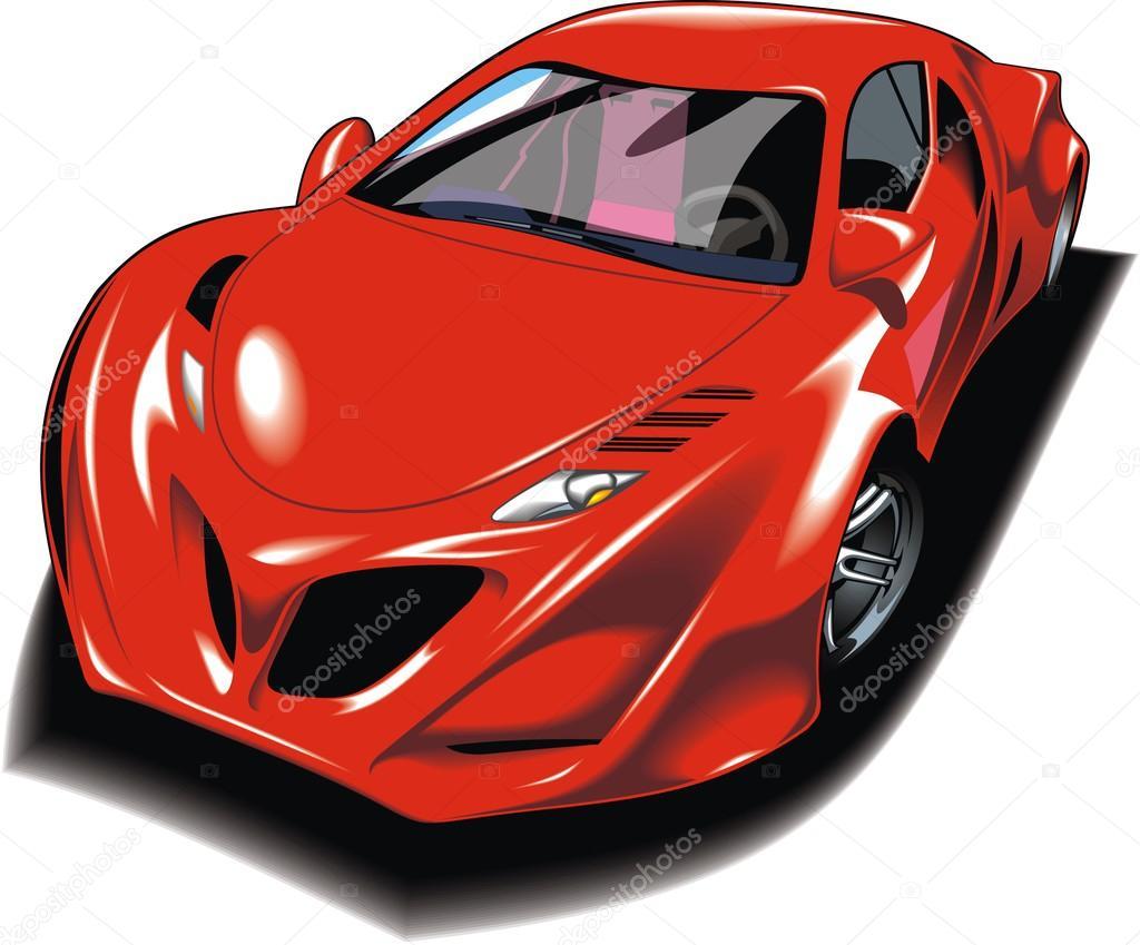 Mein ursprünglicher Entwurf rot-Auto — Stockvektor © pepeemilio2 ...