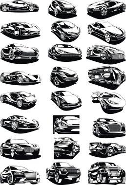 black and white my original designed cars