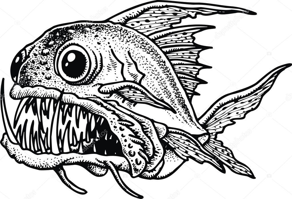 Dibujos: pirañas | pirañas — Vector de stock © pepeemilio2 #69230593