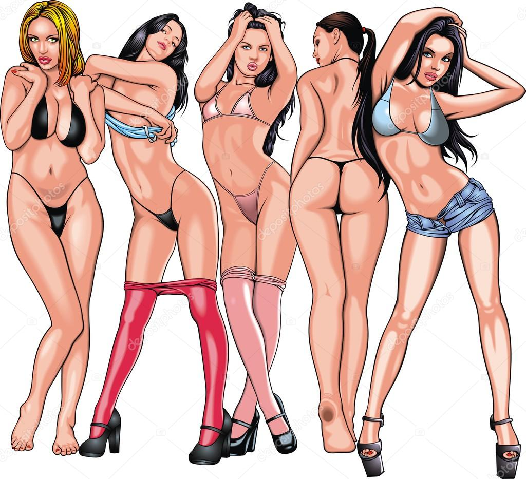 Five girls from my dream