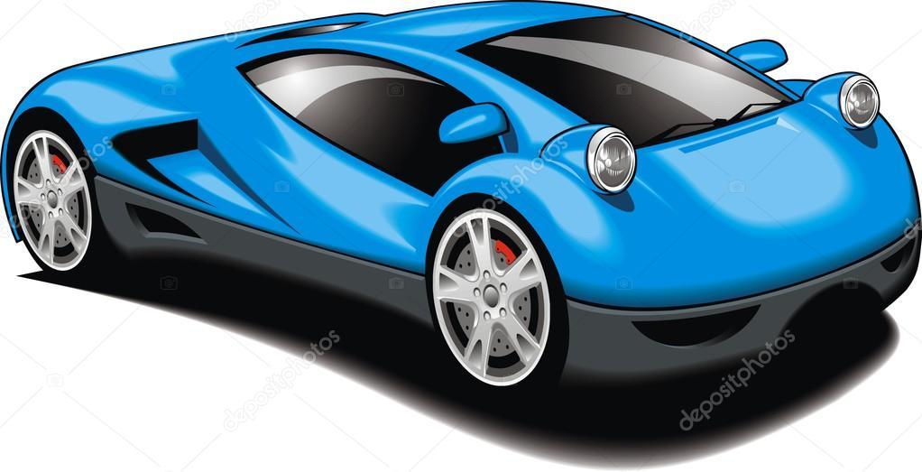 Mein ursprünglicher Entwurf-Auto — Stockvektor © pepeemilio2 #99774658