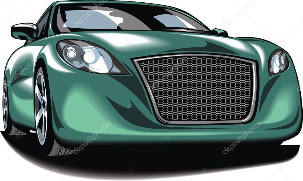 Mein ursprünglicher Entwurf-Auto — Stockvektor © pepeemilio2 #99775780