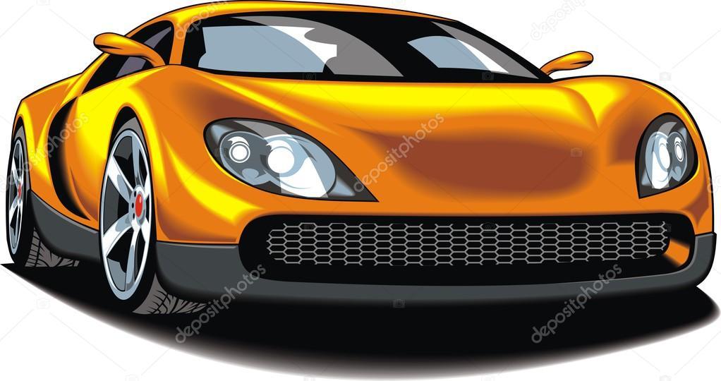 Mein ursprünglicher Entwurf-Auto — Stockvektor © pepeemilio2 #99775850