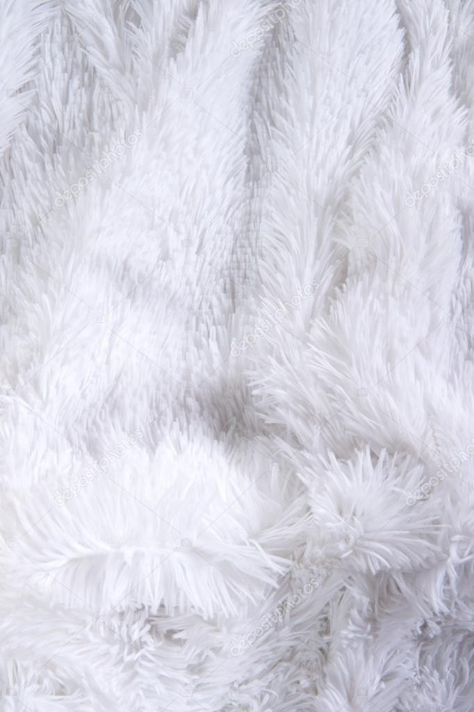 White fluffy texture