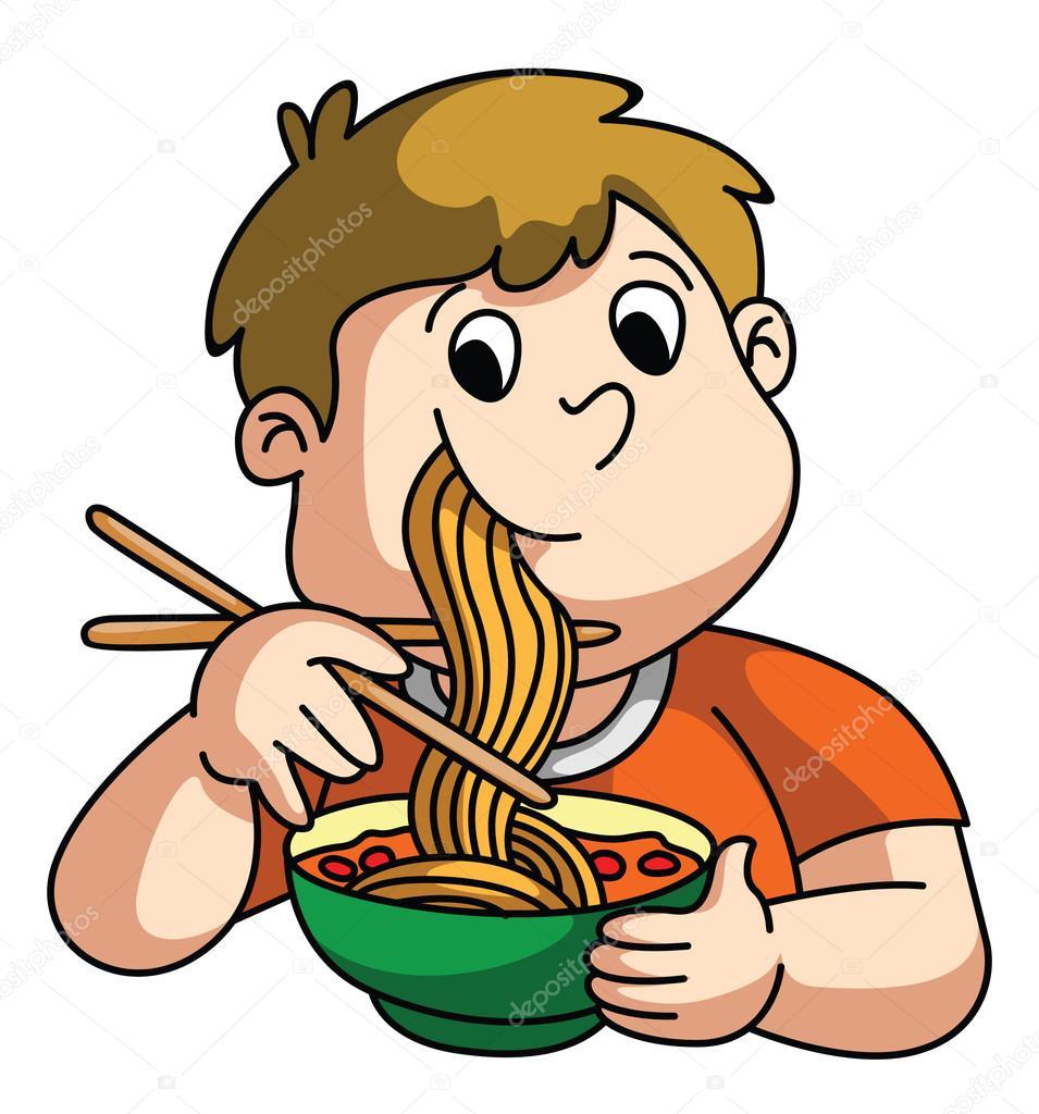 Di algo que se pueda chupar que empiece por la primera letra de tu nick - Página 3 Depositphotos_54771999-stock-illustration-boy-eating-noodle