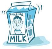 Pohřešovaný muž na mléko