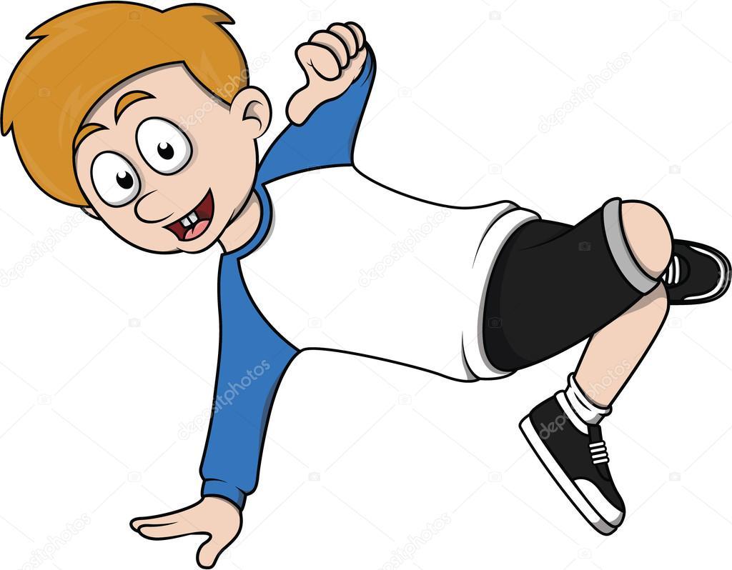 Break Dancer Boy Stock Vector C Indomercy2012 96588736
