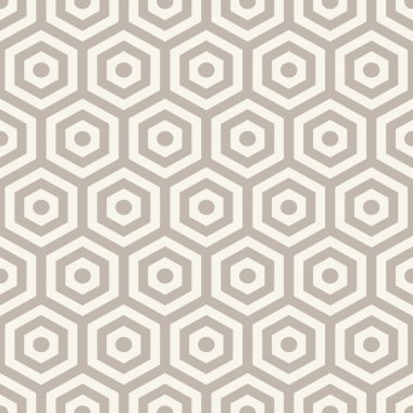 Hexagons texture. Seamless geometric pattern. clip art vector