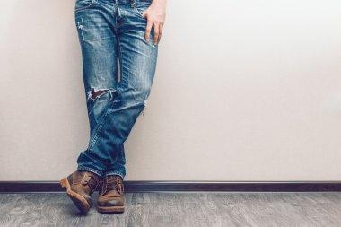 Man's legs