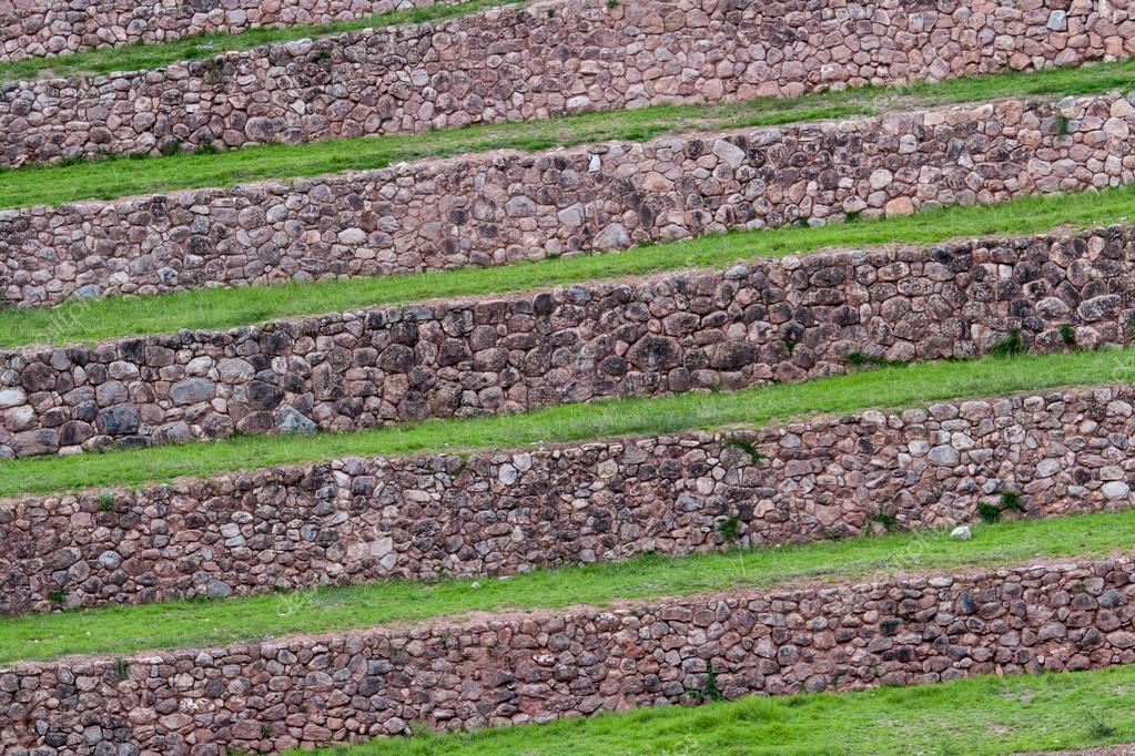 Terrazze verdi di Moray — Foto Stock © impalastock #67395141