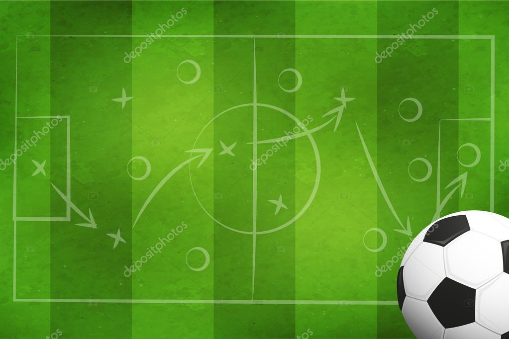 Fussball Oder Fussball Hintergrund Stockfoto C Istone Hun