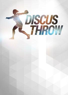 Discus Throw background