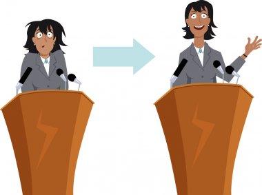 Public speaking training