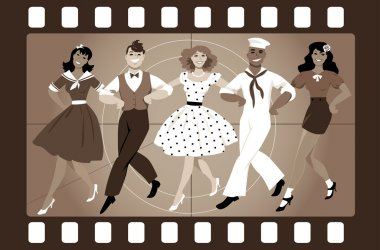 Old-fashion musical movie