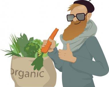 Shop local, eat organic
