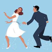 Leágazó-táncosok
