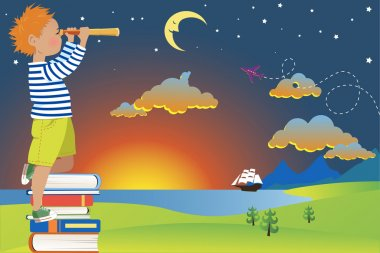 Child's imagination and reading