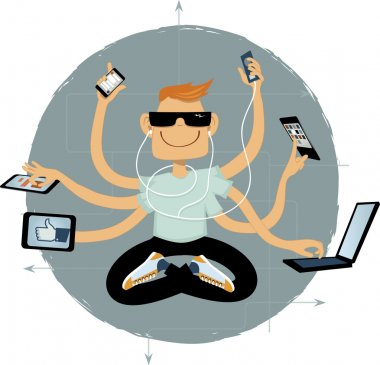Internet superhero